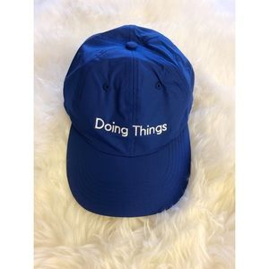 Outdoor Voices Accessories - NWT Doing Things Hat
